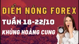 Điểm Nóng Forex Tuần 18-22/10 ✅ - KHỦNG HOẢNG CUNG | TraderViet