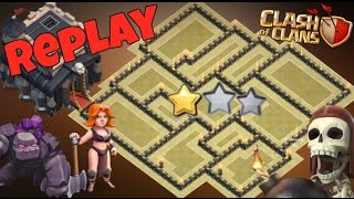 Th9 War Base 2017 Anti 2 Star With Replay Anti Everything Anti Valkyrie Anti Lavaloon Anti Gowipe