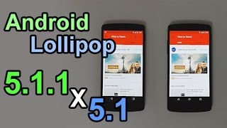 Android Lollipop 5.1.1 vs 5.1 - Performance Comparison (Nexus 5)