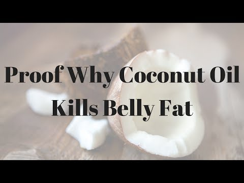 Proof Why Coconut Oil Kills Belly Fat – 842