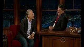 Late Late Show with Craig Ferguson 2/21/2012 Bill Maher, Eloise Mumford