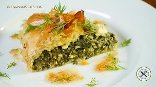 Spanakopita / Greek Spinach Pie – Bruno Albouze – THE REAL DEAL