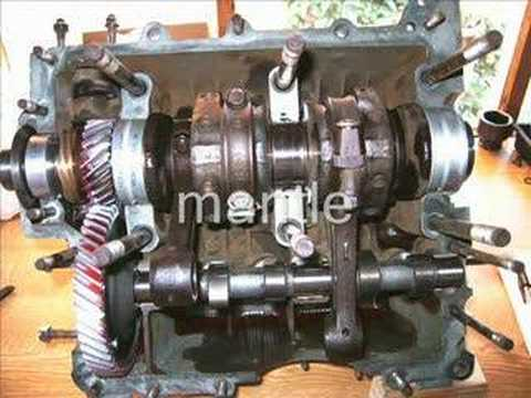 vw 1600 aircooled engine diy rebuild slideshow youtube rh youtube com vw beetle engine layout vw bug engine diagram