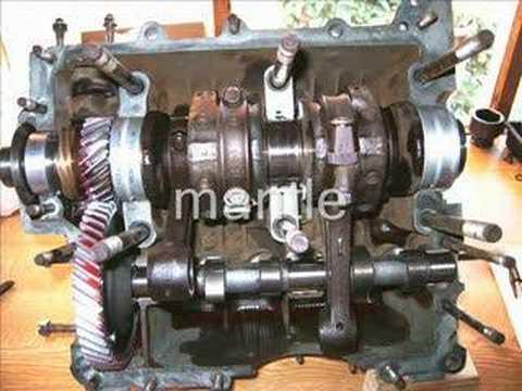 VW 1600 Aircooled Engine DIY Rebuild (Slideshow)  YouTube