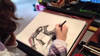 Mass Effect Speed Drawing