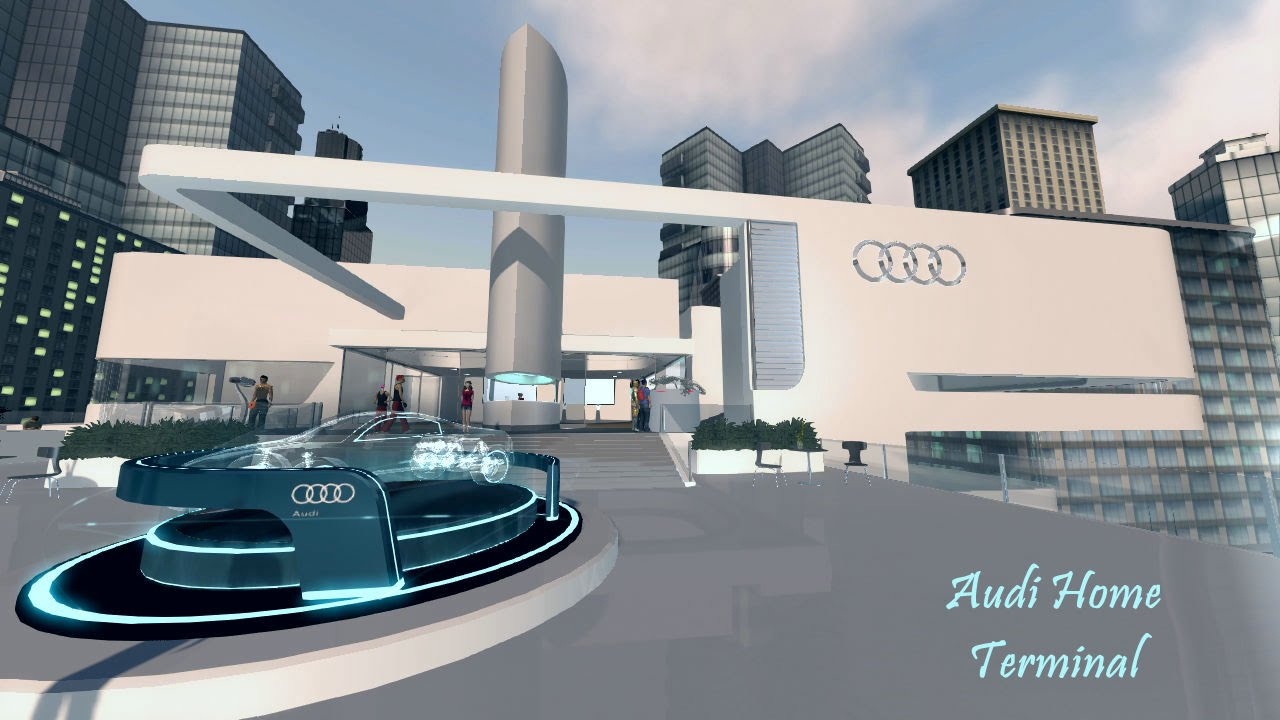 PlayStation Home Audi Home Terminal And Games YouTube - Audi home