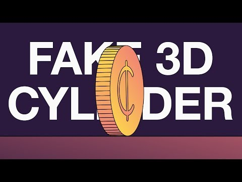 Fake 3D Cylinder - Adobe After Effects tutorial thumbnail