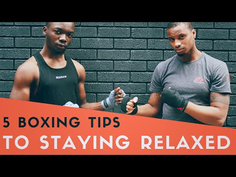 5 Boxing Tips For Staying Relaxed And Avoid Fatigue | Moreno Boxing