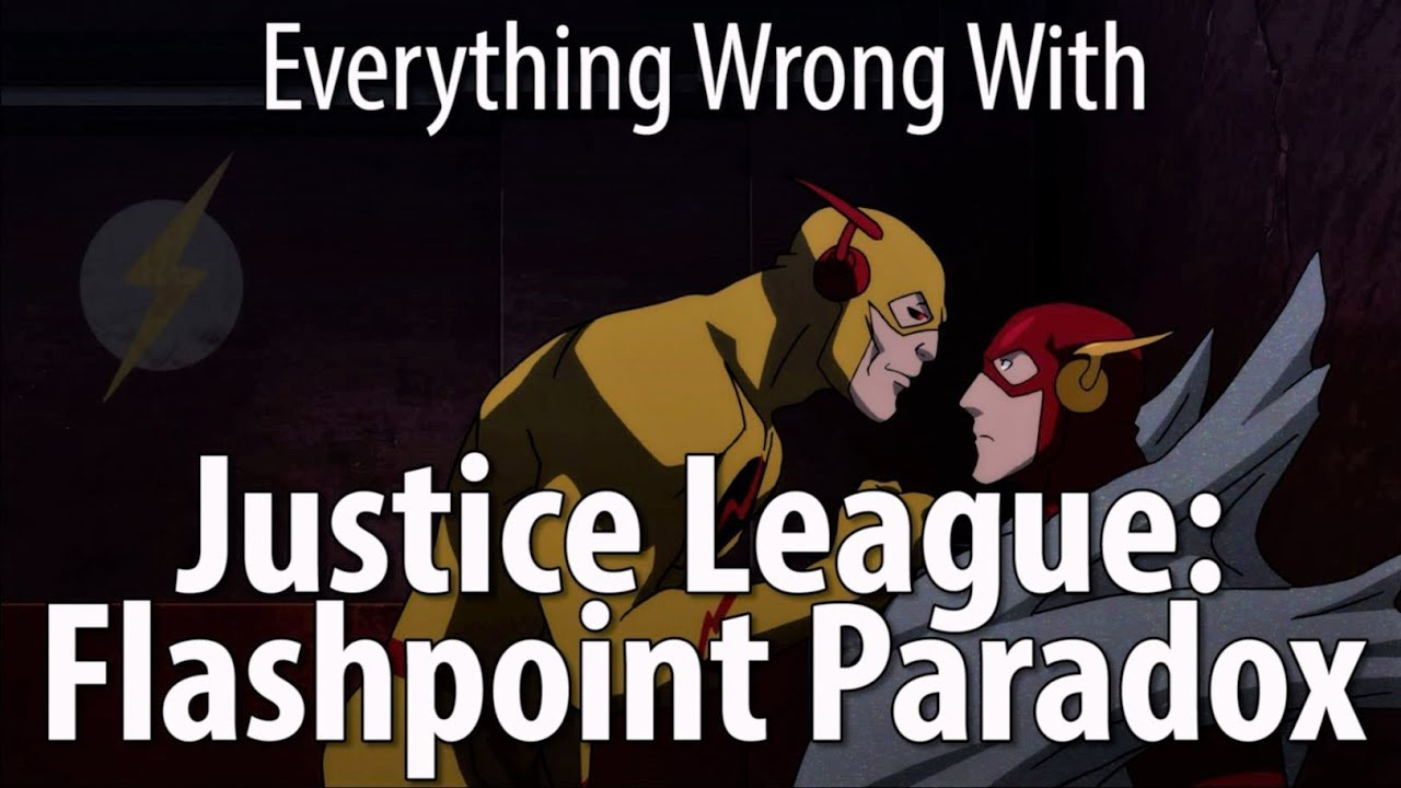 Download Everything Wrong With Justice League: Flashpoint Paradox