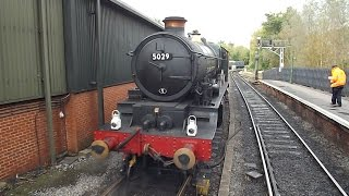 NYMR Holiday D6 Black 5 and GWR Castle Bash Thursday 16th October 2014