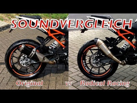 ktm 125 duke 2017 radical racing sound youtube. Black Bedroom Furniture Sets. Home Design Ideas