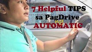 7 Tips Sa PagDrive Ng Automatic Car (Beginner's Guide)
