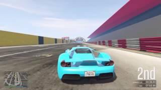 GTA 5 ONLINE - Perfect Slip Stream Racing
