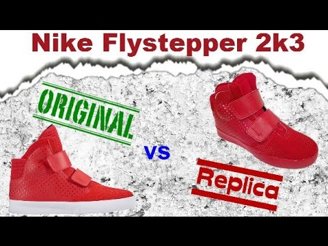 Original vs replica nike flystepper 2k3 real vs false spanish continues to  raise your level!