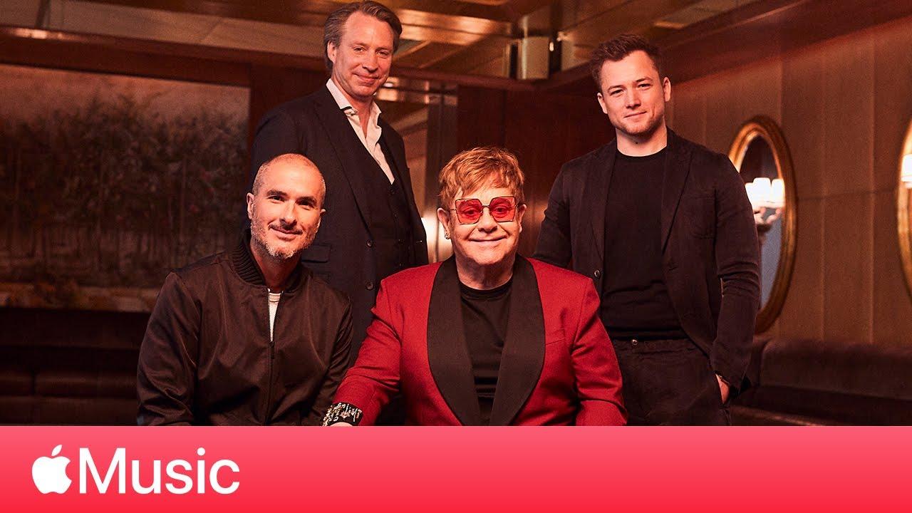 Download Taron Egerton, Elton John and Giles Martin Rocketman Roundtable | Apple Music