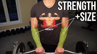 5 Killer Forearm Exercises to Increase Strength & Size (How To Get Bigger & Stronger Forearms)