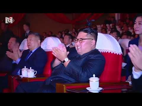 Chinese artists put on a show for Kim Jong Un