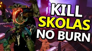 Destiny: How to Kill Skolas No Burn Easy Method!