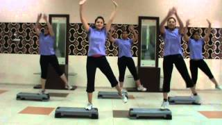 Steps Aerobic Dance - Akon (Right Now Na Na)