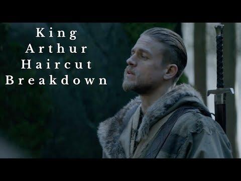 Charlie Hunnam King Arthur Haircut - TheSalonGuy