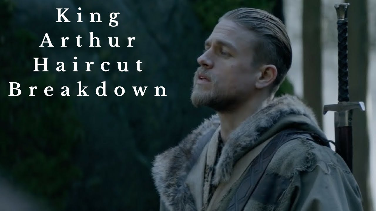 charlie hunnam king arthur haircut - thesalonguy