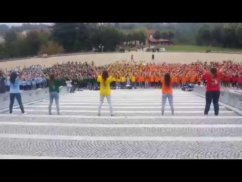 Colle Don Bosco - 08/10/2014 - Flash Mob