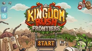 Kingdom Rush Frontiers HD - Ironhide S.A. Level 1