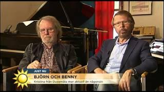 Björn och Benny aktuella med nypremiär - Nyhetsmorgon (TV4)