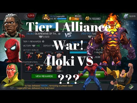 T1 Alliance War! Dormammu Boss kill!?!!
