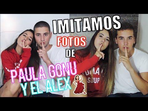 ¡IMITAMOS FOTOS de PAULA GONU y a ALEX!+Baile-Mertun