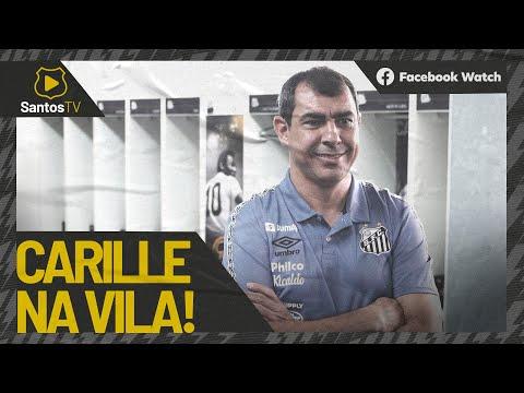 FÁBIO CARILLE ASSINA COM O SANTOS E CONHECE A VILA BELMIRO!