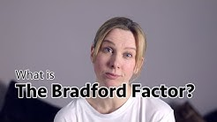 The Bradford Factor and How to Use It