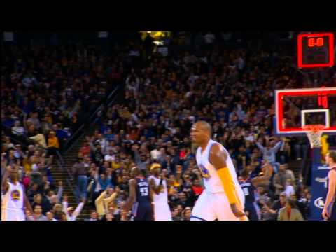 Marreese Speights Nails the 45-Footer to Beat the Buzzer!