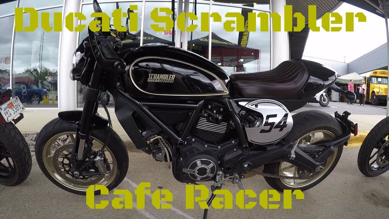 Ducati Scrambler Cafe Racer First Ride Review Youtube