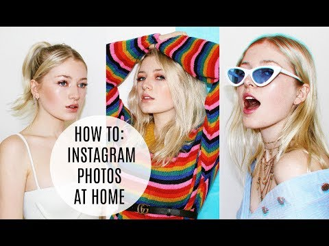 HOW TO TAKE HIGH QUALITY INSTAGRAM PHOTOS AT HOME / Kallie Kaiser