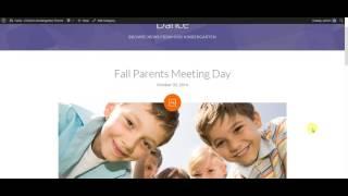 Fable - Children Kindergarten WordPress Theme: Setup Blog Pages