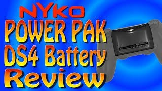 Nyko - Dual Shock 4 Battery - 2X POWER PAK Unboxing and Review