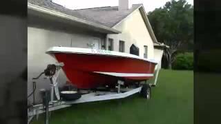 1967 16'  Cobia boat rebuild part #1