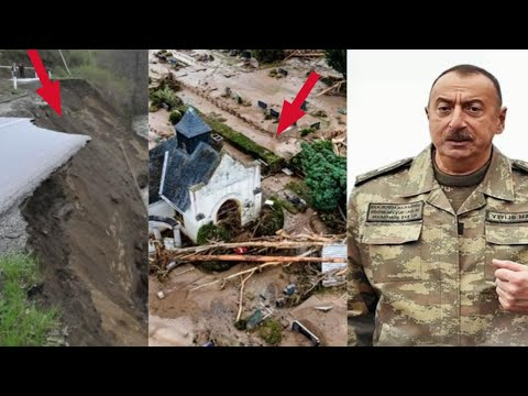 Նոր Uարuափելի աղետ Ադրբեջшնի գլխին․ Ուժգին ջրհեղեղները ոչնչшցրել են ավել քան 2 խոշոր բնակшվայր