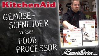 KitchenAid Gemüseschneider versus KitcнenAid Food Processor