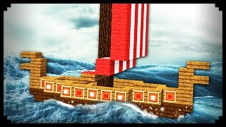✔ Minecraft: How to make a Viking Ship
