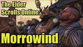 Обзор The Elder Scrolls Online: Morrowind | MMORPG про Скайрим | Первый взгляд