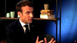 "Macron reagiert im Livestream auf ""Angriff"" in Lyon"