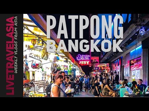 #5 Patpong, Bangkok, Thailand - Gay Bars, Ping Pong, Counterfeit Watches...