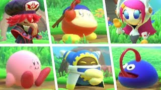 Kirby Star Allies - All Character Idle Animations (DLC Included)