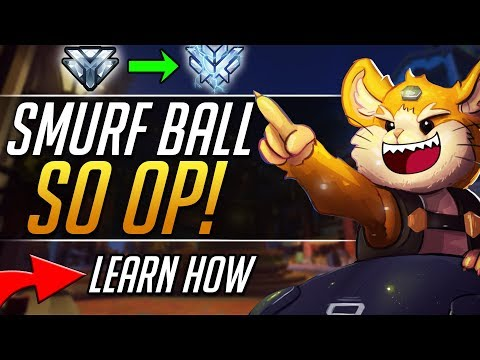 Smurf Wrecking Ball - Pro Hammond Tips and Tricks Gameplay Guide | Overwatch