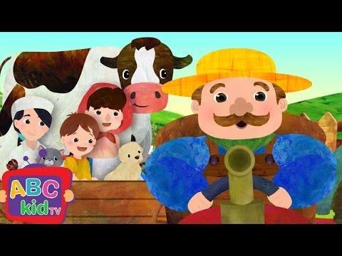 Farmer in the Dell | Nursery Rhymes - ABCkidTV