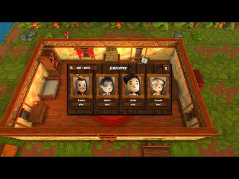 "Harvest Life NEW APRIL UPDATE! ""Escort Quest and staff!"" Farming Country Life PC Gameplay"