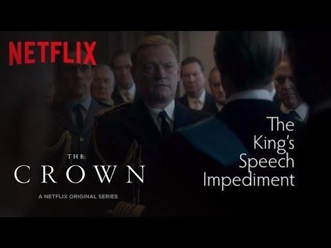 The Crown  The King's Speech Impediment  Netflix