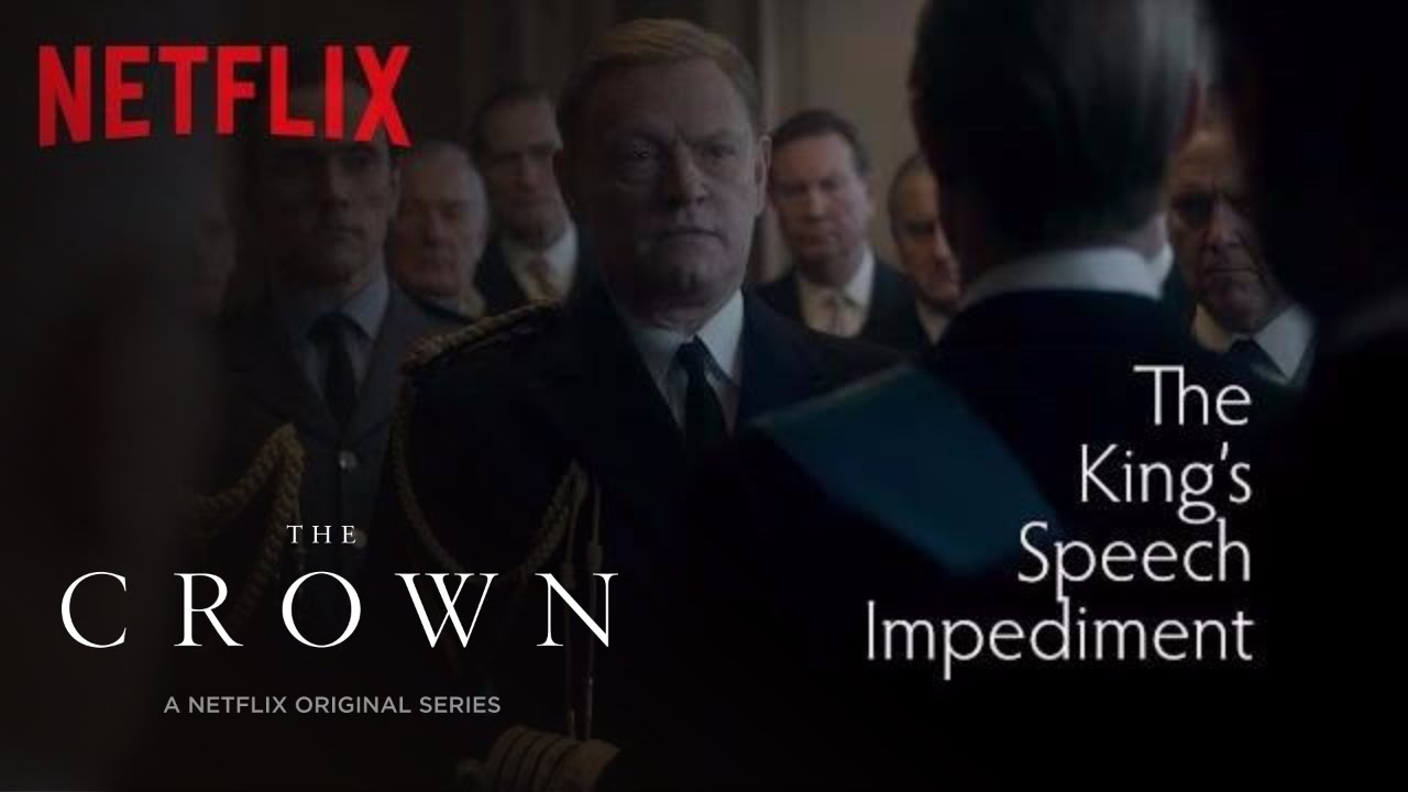 the crown the king 39 s speech impediment netflix youtube. Black Bedroom Furniture Sets. Home Design Ideas